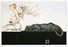 Michael Parkes Art Michael Parkes Art Waiting