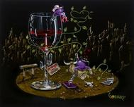Godard Wine Art Godard Wine Art Wanted Cowgirl (AP)