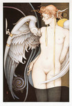 Michael Parkes Art Michael Parkes Art Watching Time