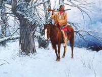 David Mann David Mann Winter Stillness