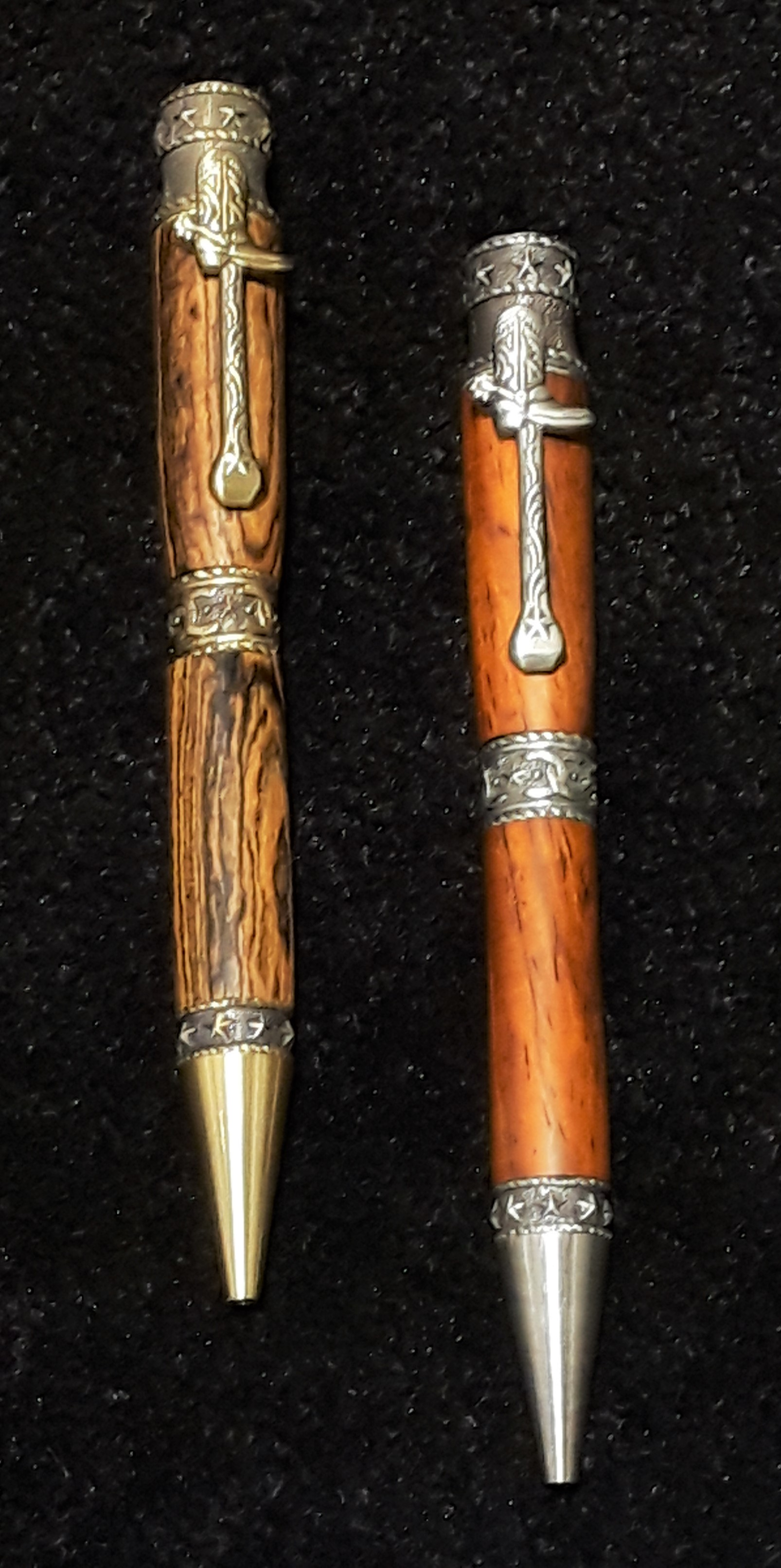 Allywood Creations Cowboy Pen - Wood