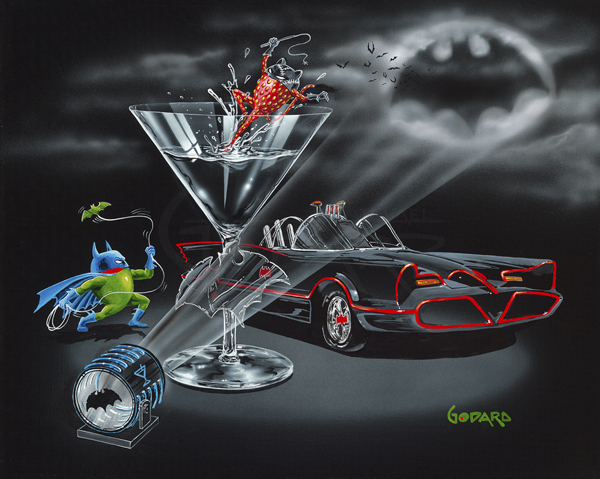 Michael Godard Bat-Tini (Superhero Edition)
