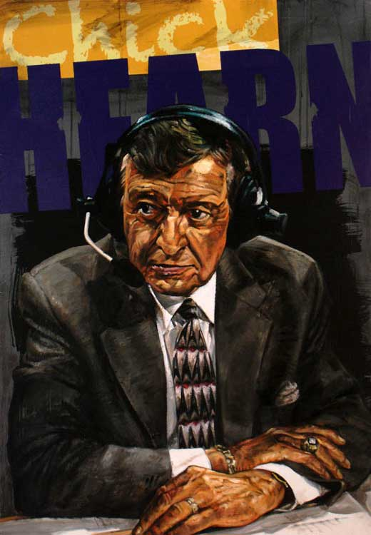 Stephen Holland Chick Hearn