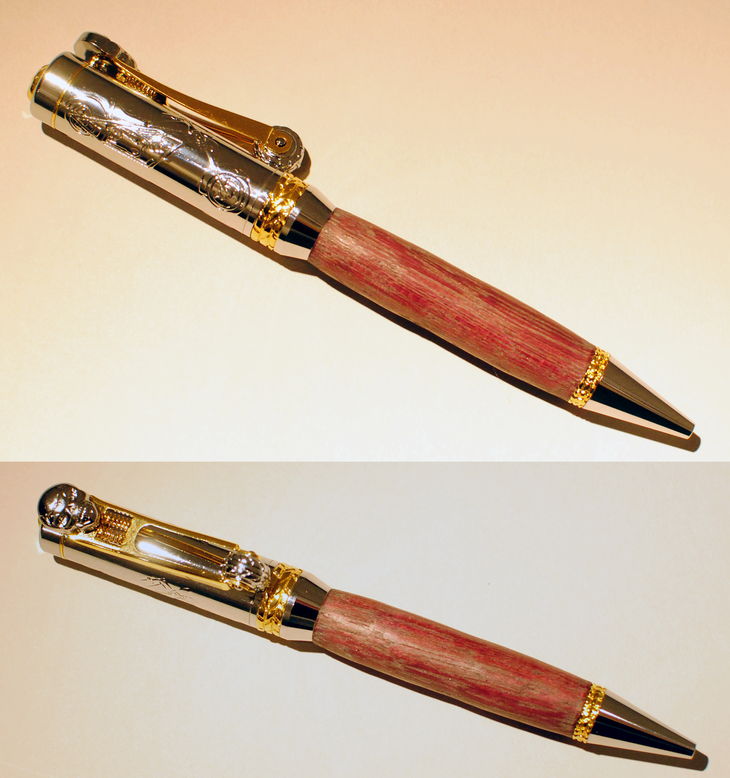 Allywood Creations Chopper (Motorcycle) Wood Pen