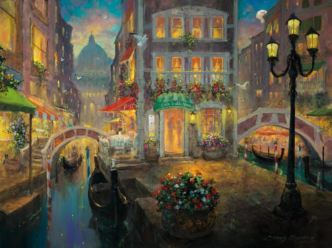James Coleman Finding Love in Venice (SN) (Large)