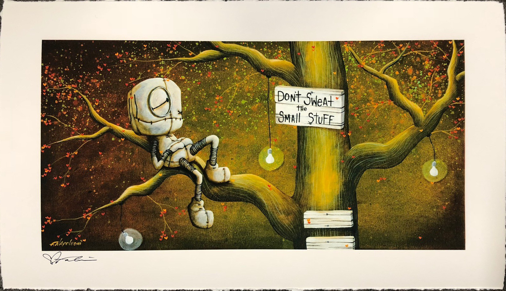 Fabio Napoleoni Don't Sweat the Small Stuff (OE) Mini Print