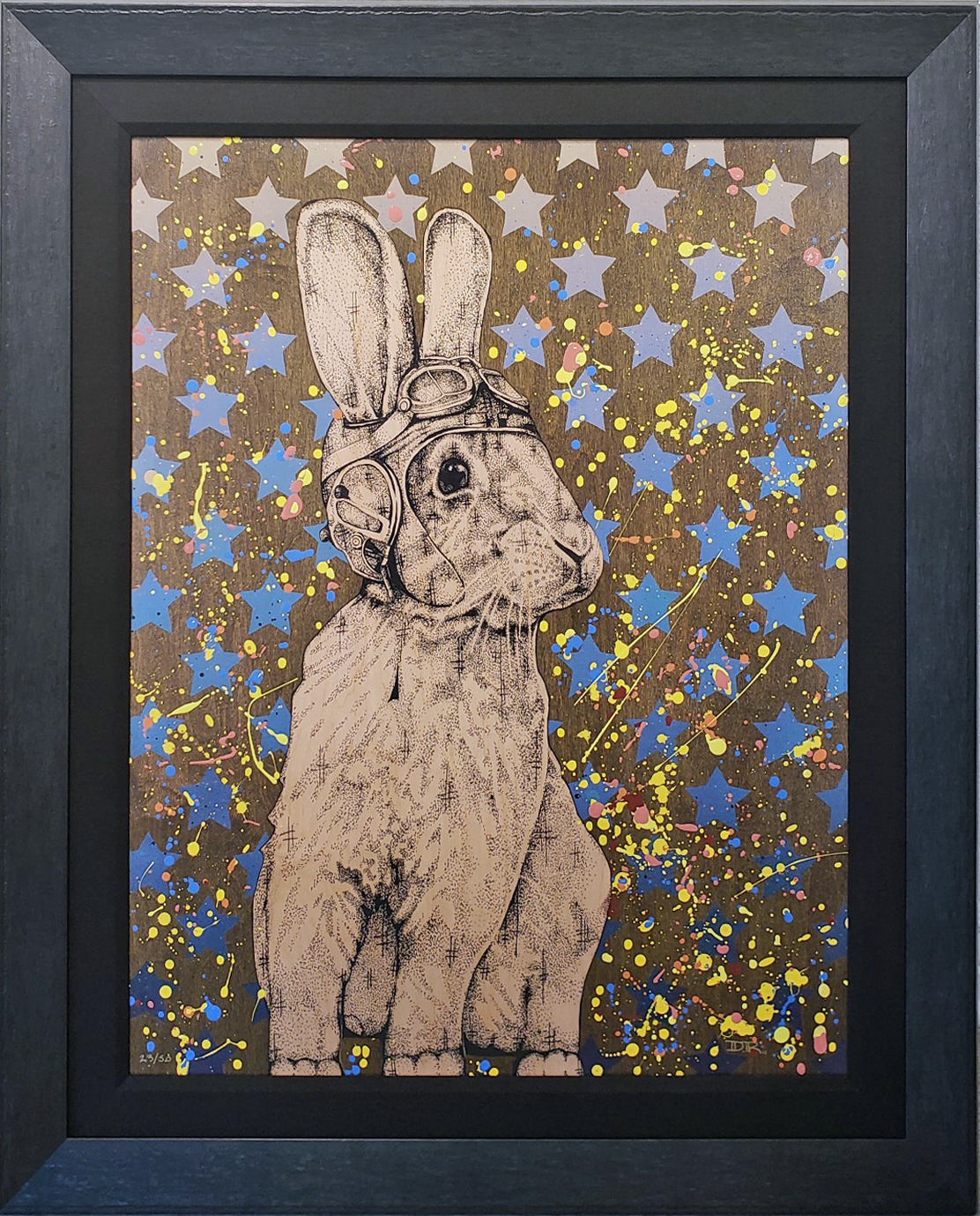Daniel Ryan Hare I Am (Framed)