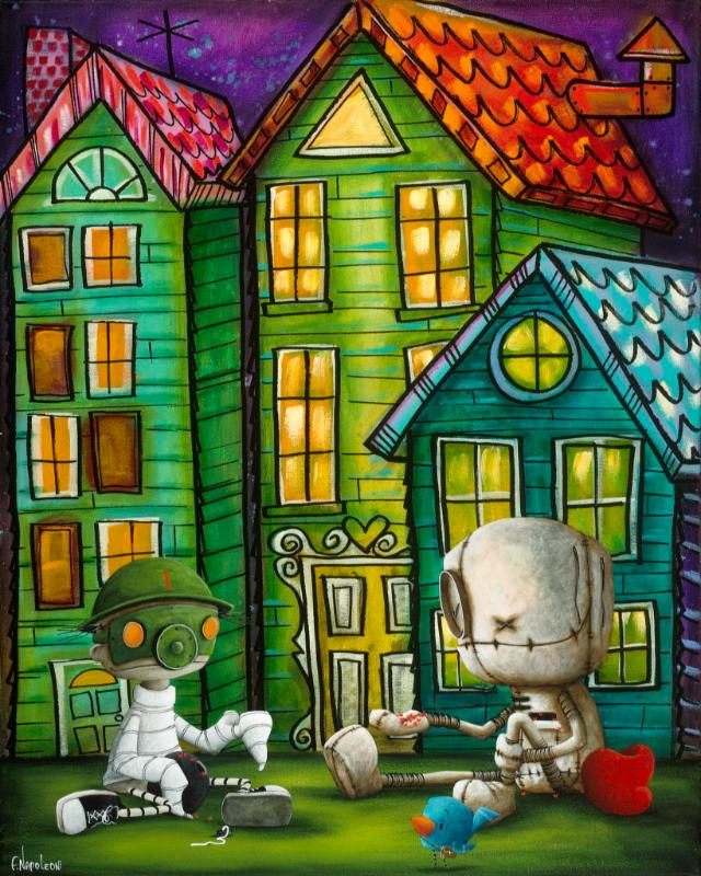Fabio Napoleoni In Case of Emergency (SN) Canvas (Gallery Wrapped)