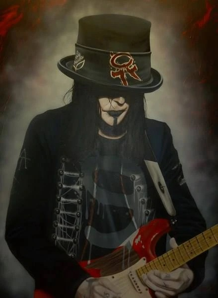 Stickman He's the Blood Stain on the Stage - Mick Mars (SN)