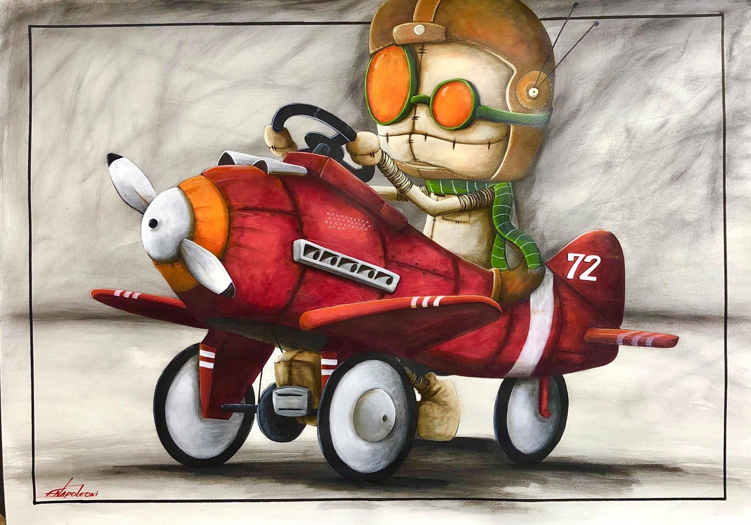 Fabio Napoleoni Next Level Here I Come (AP)