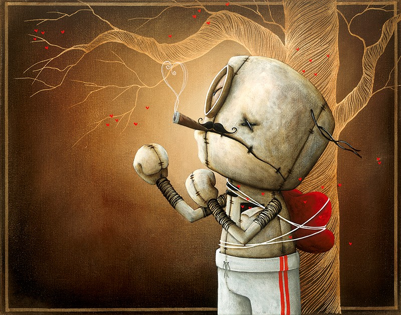 Fabio Napoleoni Only A Fool Would Try (SN) Canvas