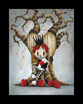 Fabio Napoleoni Queen of Broken Hearts (AP) (Super Duper) Canvas