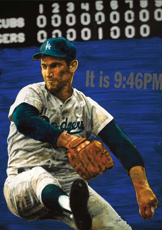 Stephen Holland Sandy Koufax - The Perfect Game