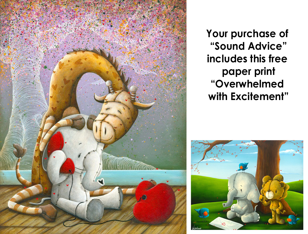 Fabio Napoleoni Sound Advice (SN) Canvas