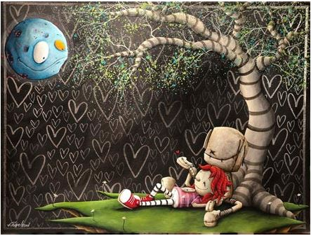 Fabio Napoleoni To the Moon and Back (SN) Itty Bitty Collection