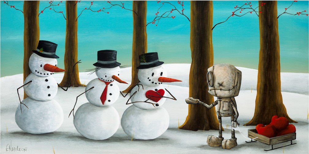Fabio Napoleoni A Little Something to Keep You Warm (AP) Canvas