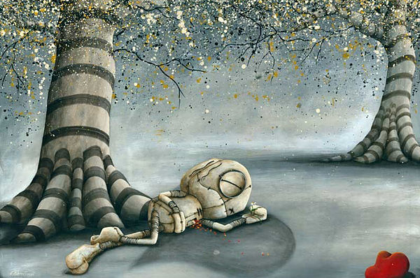 Fabio Napoleoni In the Shadow of Hope (SN) Canvas