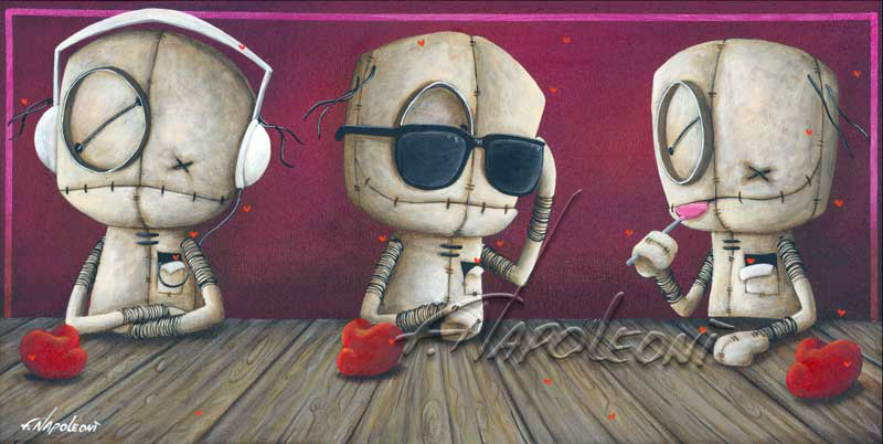 Fabio Napoleoni Keeping to Myself (PP) Itty Bitty Collection