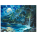 Artist James Coleman Limited Edition Giclee on Canvas Napali Sanctuary (SN)