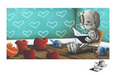 Fabio Napoleoni Limited Edition Giclee on Paper A Tale for Dreamers (SN) Itty Bitty