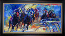Flohr Art Limited Edition Giclee on Canvas Across the Board
