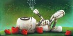 Fabio Napoleoni Limited Edition Giclee on Canvas All These Wishes Are For You (SN)