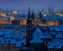 Alexei Butirskiy Limited Edition Giclee on Canvas An Evening In Prague