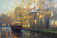 Alexei Butirskiy Limited Edition Giclee on Canvas Autumn Glow