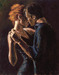 Fabian Perez Limited Edition Giclee on Canvas Baladas In Buenos Aires