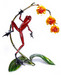 Frogman - Tim Cotterill Bronze Sculpture Orchid
