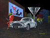 Godard Martini Art Limited Edition Giclee on Canvas Bond - 007 (SN)