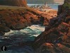 Ron Chesley Limited Edition Giclee on Canvas Baja Blue