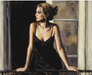 Fabian Perez Limited Edition Giclee on Canvas Balcony at Buenos Aires VIII