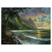 James Coleman Limited Edition Giclee on Canvas Bali Hai Sunset (SN)