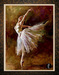 Andrew Art Limited Edition Giclee on Canvas Ballerina