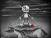 Fabio Napoleoni Limited Edition Giclee on Paper Be Strong and Hold On (AP Edition)