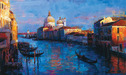 Michael Flohr Art Limited Edition Giclee on Canvas Beautiful Venice (AP)