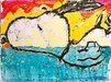 Tom Everhart Limited Edition Lithograph Bora Bora Boogie Oogie