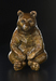 Robert Bissell Bronze Sculpture Guru Bronze Bear
