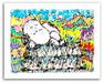 Tom Everhart Limited Edition Giclee on Paper Bungalow Six - Milky Way