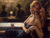 Fabian Perez Limited Edition Giclee on Canvas Cynzia At Las Brujas