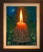Victor Bregeda Limited Edition Giclee on Canvas Candle Lovers (35 x 27)