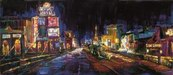 Michael Flohr Art Limited Edition Giclee on Canvas City of Lights