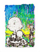 Tom Everhart Limited Edition Mixed Media on Paper Coconut Fabulous