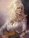 Kruger Fine Art Original Acrylic on Canvas Dolly - Dolly Parton (Original Painting)
