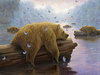 Robert Bissell Limited Edition Giclee on Canvas Drifters (AP Hand-Enhanced)