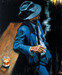Fabian Perez Limited Edition Giclee on Canvas Enjoying the Pleasures of the Night