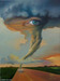 Jim Warren Fine Art Limited Edition Giclee on Canvas Eye of The Storm