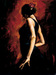 perez tango Limited Edition Giclee on Canvas Flamenco