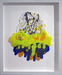 Tom Everhart Original Acrylic on Paper Flipped Out 6 (Framed)